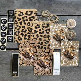 Kado set Leopard Big