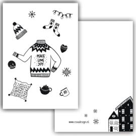 Mini kaartje Cosy winter
