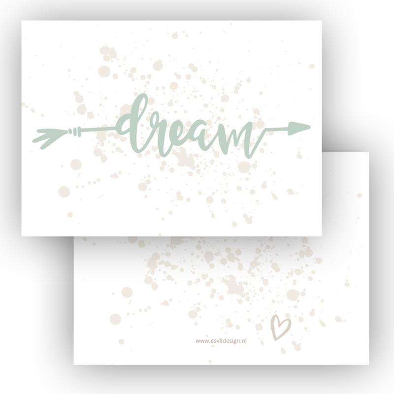 Kaart Dream groen