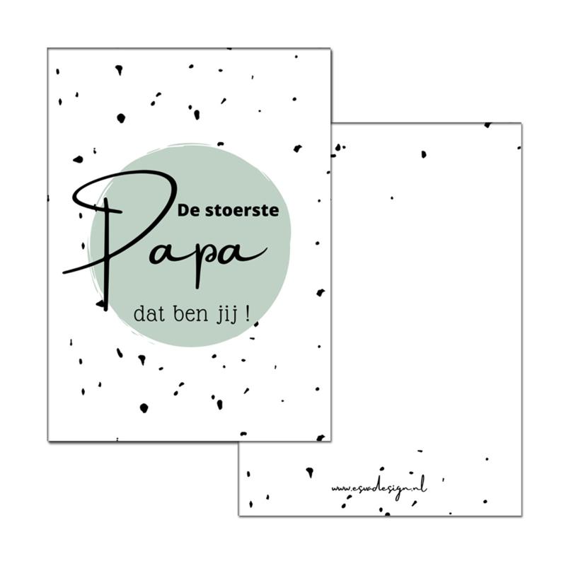 Kaart Stoerste Papa groen