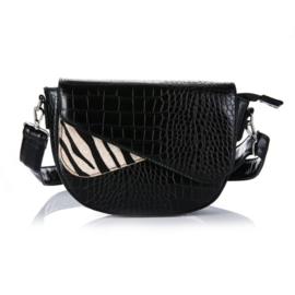 Schoudertas | Zebra Black