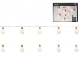 Plastic bulb LED slinger 275cm