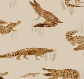Universele aankleedkussen hoes krokodil