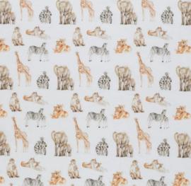 Overslag shirtje drukkers animals