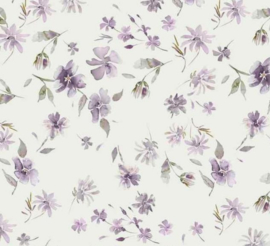 Swaddle lilac flowers