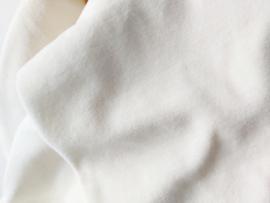 Overslag shirtje velours off white