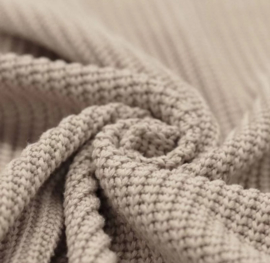 Kiezel big knit trui