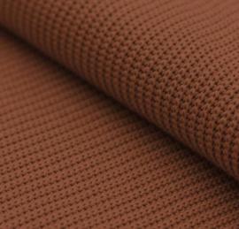 Cognac  big knit trui