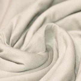 Overslag shirtje kiezel/beige