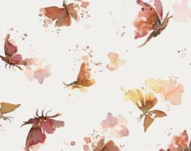 Universele verschoningkussenhoes vlinders
