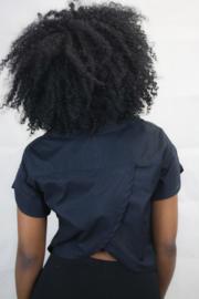Cropped overhemd