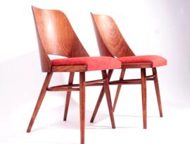 Set van 2 Eetkamerstoelen van Oswald Haerdtl/TON/Thonet