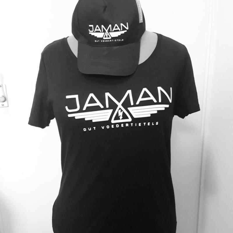 Dames T-shirt + cap JAMAN