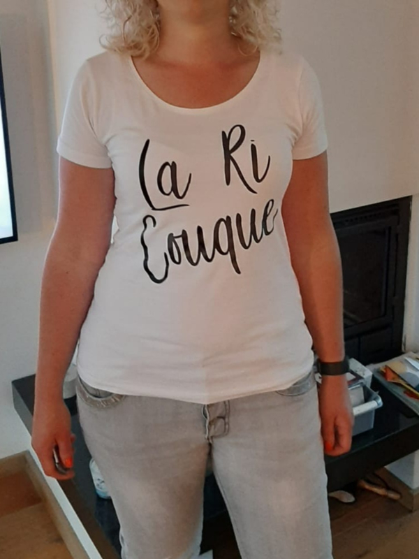 T-shirtLa ri couque
