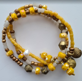 """African Tinkelbell"" Wikkel Arm-Ring"