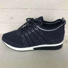 La Strada sneakers blue knitted