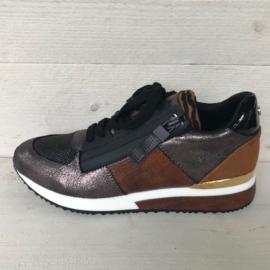 La Strada sneakers met ritsje