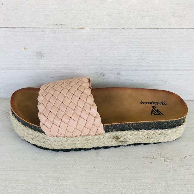 Toffe slippers beige/champagne