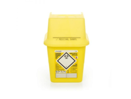 Sharpsafe naaldcontainers