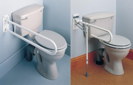 Opklapbare toiletbeugel Days