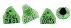 Transponder oormerk SE 18e Ø 25 mm