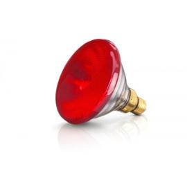 Warmtelamp EB 175W rood Philips