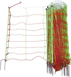 """Tornado XL schrikdraadnet """"combi"""" 90 cm hoog, met dubbele punt"""