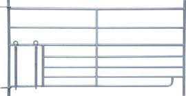 Steekfix hek met lammeren kruipgat 92 cm hoog, 1,83 m lang