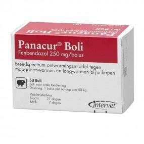 Panacur boli 250 mg
