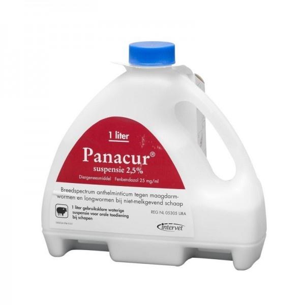 Panacur suspensie 2,5% 2,5 ltr