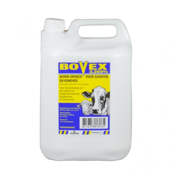 Bovex 2,265% suspensie 5 ltr