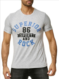 Superior t-shirt grijs