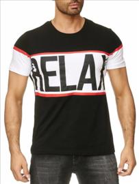 Relax t-shirt zwart