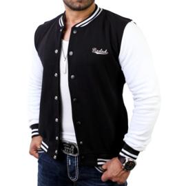 Reslad vest zwart-wit