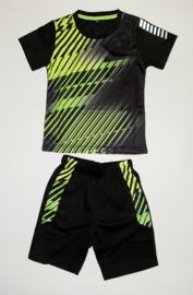 Sportsetje neon geel/zwart