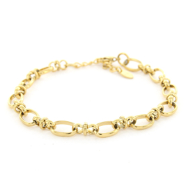 Armband Schakel 8 Goud