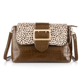 Luxe tas met gesp