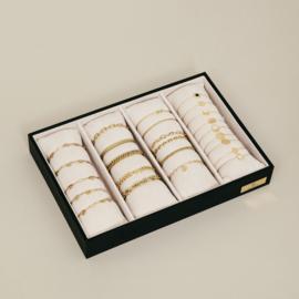Armband display beige