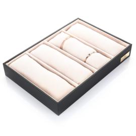 Armband display beige TIJDELIJK UITVERKOCHT
