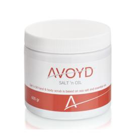 Avoyd Salt 'n Oil Scrub 600gr