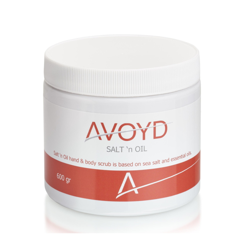 Avoyd Salt 'n Oil Scrub (600gr)