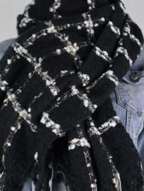 Sjaal London – Zwart