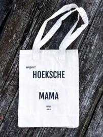 Grote canvas tas 'Import Hoeksche Mama'