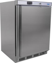 Minikoelkast RVS 129 Liter