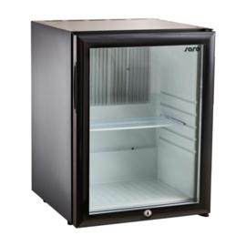Geluidsarme koelkast | Stille koelkast | Minibar met glasdeur 28 Liter