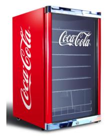 Glasdeurkoelkast Coca-Cola  116 Liter
