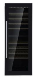 Wijnkoelkast   Wijnkoeler zwart 379 Liter