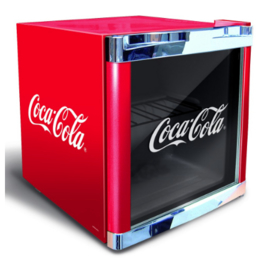 Mini Glasdeur koelkast Coca-Cola