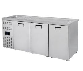 Bierkoeling | Dranken koelkast 3 deurs RVS