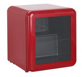 Opzetkoelkast rood 48 Liter
